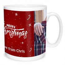 Red Christmas Mug