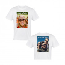 Double Sided Photo T-Shirt (A4 Image)