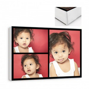 3 Image Collage Canvas