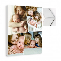 4 Image Collage Canvas