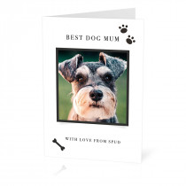 Best Dog Parent Card