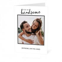 Handsome Card