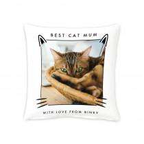 """16"""" Best Cat Mum Cushion"""