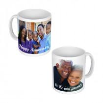 1 Long Image + 1 Square Image Mug