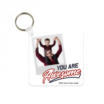 You Are Awesome Photo Keyring