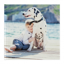 Large Square Photo Book with Hardcover
