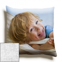 12inch Single Image Faux Suede Square Cushion