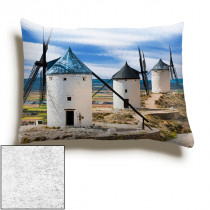 13inch x 19inch Single Image Faux Suede Oblong Cushion