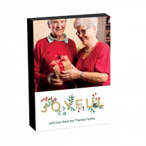 8x6 Joyful Christmas Photo block