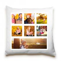 Single Sided 7 Image Collage Cushion