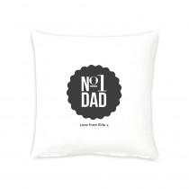 """16"""" No1 Dad Cushion"""