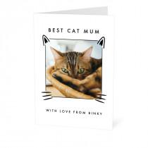 Best Cat Parent Card