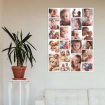 20 Image Portrait Collage