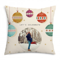 Baubles Photo Cushion