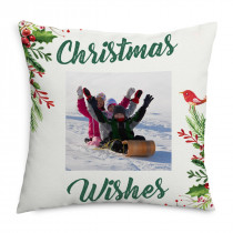 Mistletoe Photo Cushion