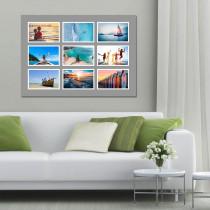 9 Image Grey Border Landscape Collage
