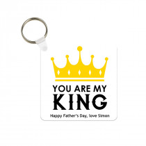 You Are My King Photo Keyring