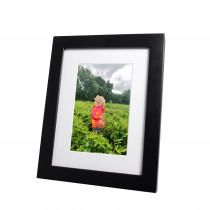 "8""x10"" Emily Black Photo Frame"