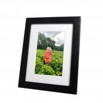 "6""x4"" Emily Black Photo Frame"