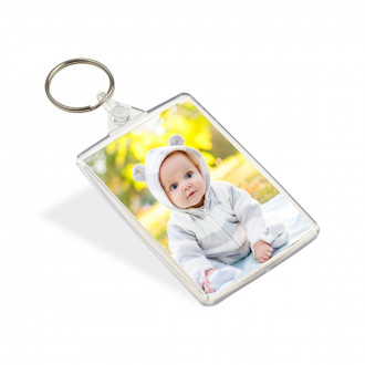 Large Keyring (Double Sided 73x48mm)
