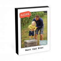 """8"""" x 6"""" Awesome Photo Block"""