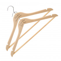 Pack of 2 Wooden Hangers