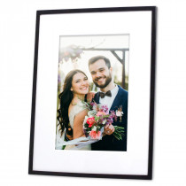 Black Frankie Photo Frame
