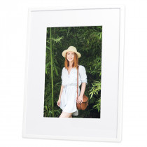White Frankie Photo Frame