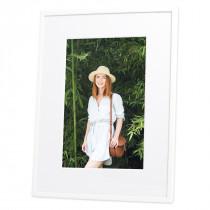 White Frankie Photo Frame