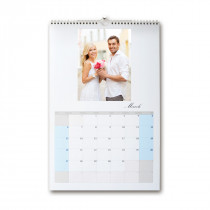 A3 Month Per Page Calendar