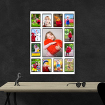 Multi Image Collage Poster