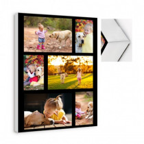6 Image Collage Canvas