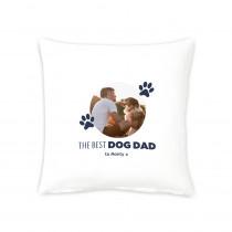 """16"""" Best Dog Dad Cushion"""