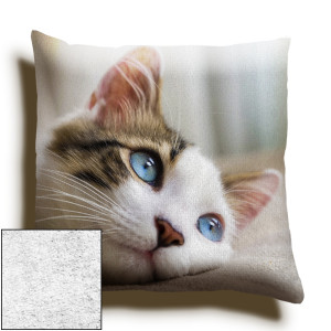 18inch Single Image Faux Suede Square Cushion