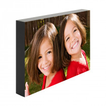 Black Edged Photo Blocks - 25mm Deep