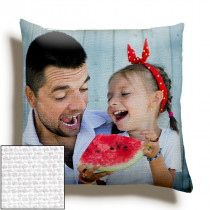12inch Single Image Canvas Square Cushion