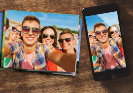 Photo printing from mobile
