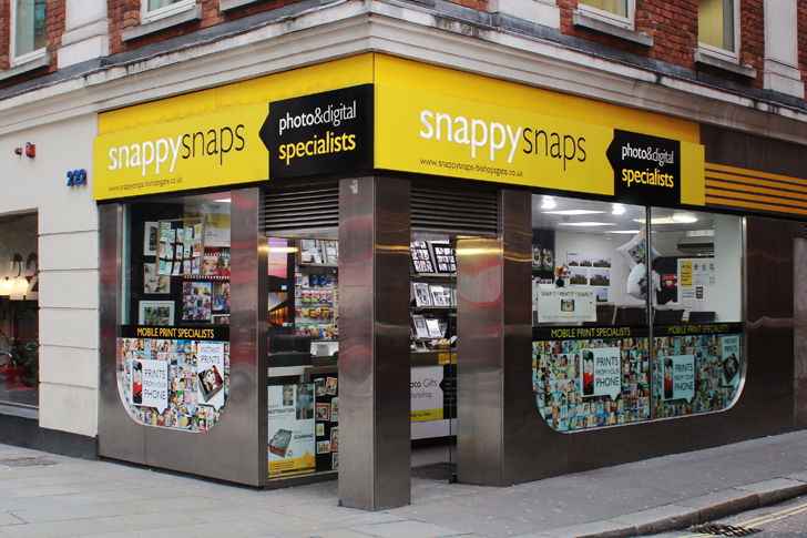c32e70d1 Photo Printing and Processing in Bishopsgate | Snappy Snaps