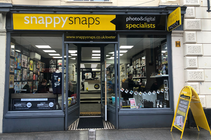 4711316f Photo Printing and Processing in Exeter | Snappy Snaps