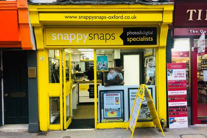 Photo Printing And Processing In Oxford Snappy Snaps