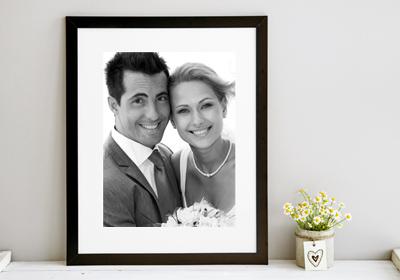 photo printing black and white sepia