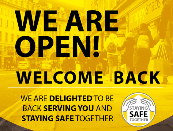 welcome back to snappy snaps