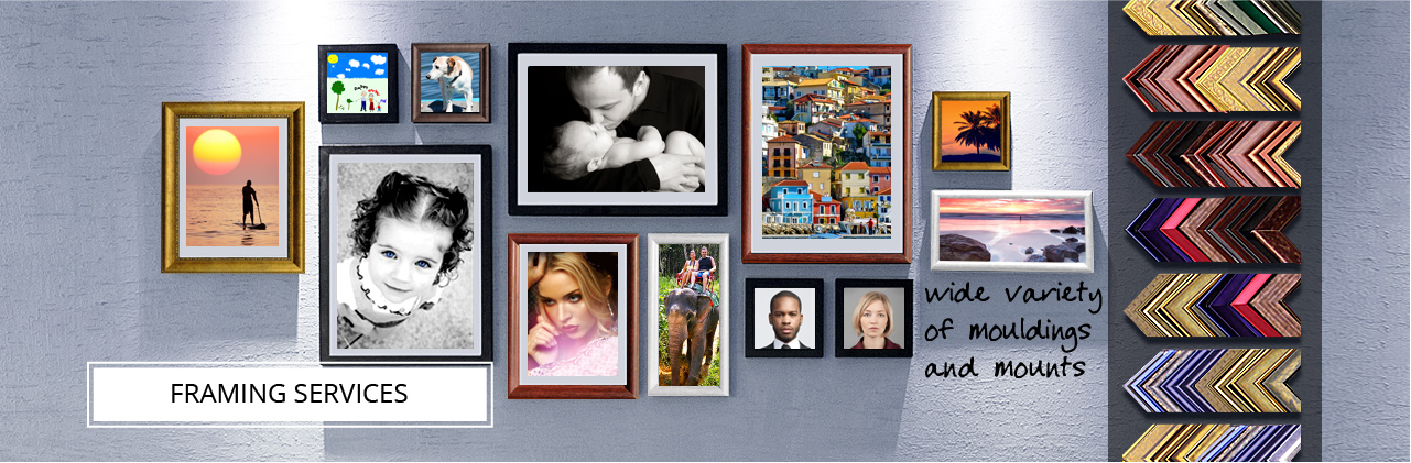 Bespoke Photo Framing Services in Windsor | Snappy Snaps
